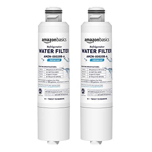 Amazon Basics Filtre à eau de rechange pour réfrigérateur Samsung DA29-00020B - Filtration Advanced