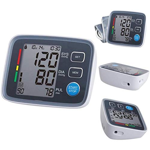 Upper Arm Blood Pressure, Monitor Large LCD Display, Speaker, Irregular Heartbeat Detector Memory