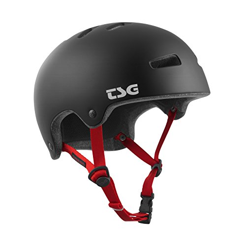 TSG Erwachsene Superlight Solid Color Helm, Satin Black, S/M