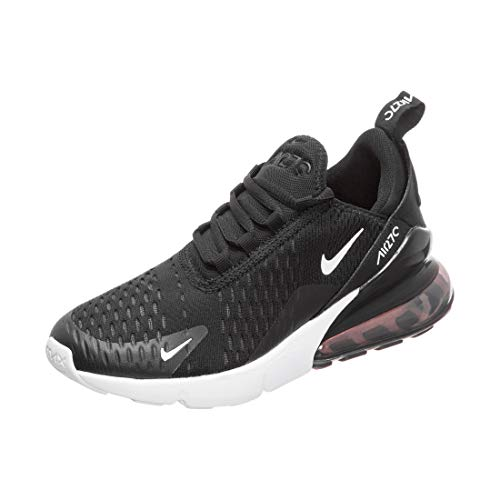 Nike Air Max 270 GS Running Trainers 943345 Sneakers Shoes (UK 4.5 us 5Y EU 37.5, Black White Anthracite 001)