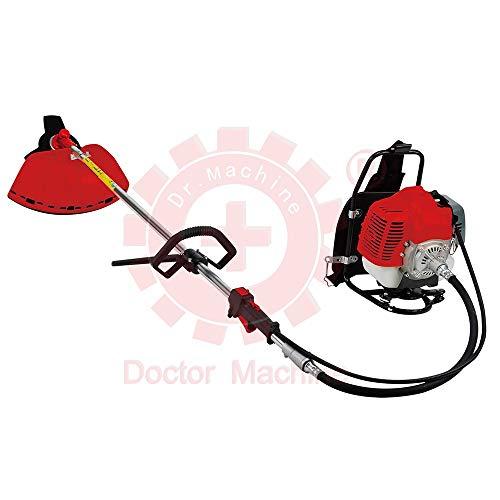 Doctor Machine Dm0005 Decespugliatore A Zaino 43cc - 1.47kw - 2,3hp - Rotazione 180 - Potente Ed...