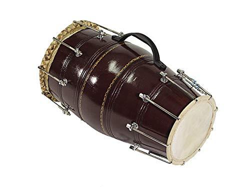 Akshar Tabla Mart Classical Dholak Dholki Bolt Tuned With Bag 17 To 18 Inch length