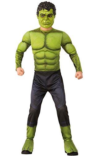 Rubie' s 700363S War Hulk costume bambino, ragazzo, multicolore, 34anni