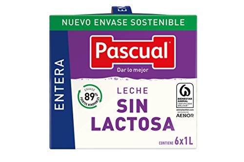 Pascual – Leche Entera Sin Lactosa Bienestar Animal – 6