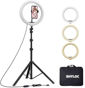 SHYLOC 10 inches Big led Ring Right for Photo...