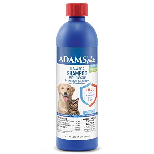 Adams Plus Flea & Tick Shampoo with Precor 12...