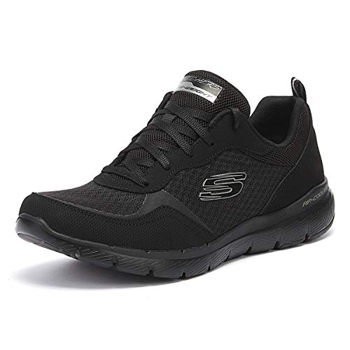 Skechers Flex Appeal 3.0-Go Forward, Zapatillas Mujer, Negro