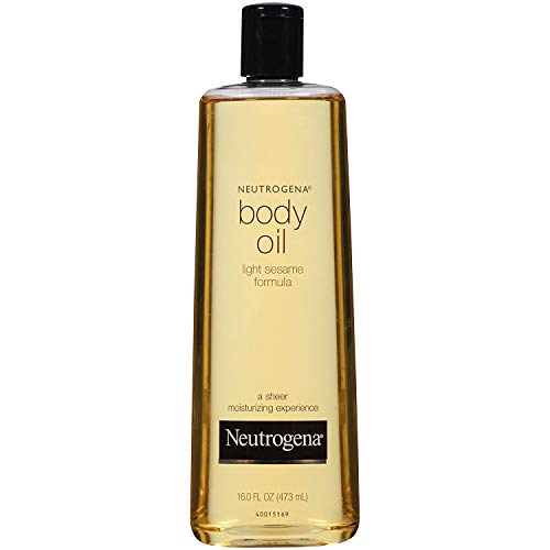 Neutrogena Body Oil, Light Sesame Formula, 16 Ounce (Pack of 2)
