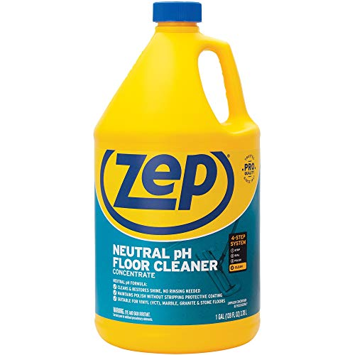 Zep Neutral pH Floor Cleaner Concentrate 1 Gallon ZUNEUT128 - Pro...