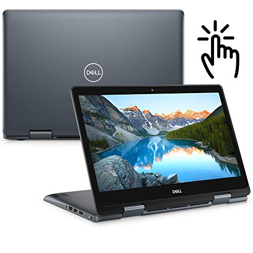 Notebook Dell Inspiron 2 em 1 Ultrafino 14 5000, i14-5481-A20S, 8ª Geração Intel Core i5-8265U, 8 GB RAM, HD 1TB, Intel UHD Graphics 620, Tela 14' LED Full HD IPS, Windows 10, Prata