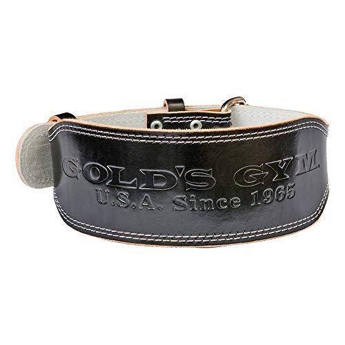 ゴールドジム(GOLD'S GYM) EXレザーベルト BK/S G3322 S