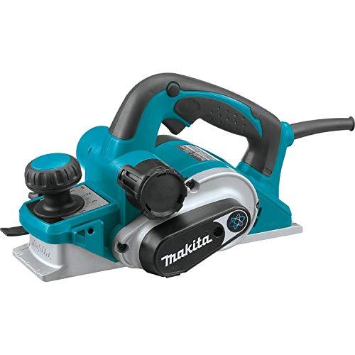 Makita KP0810 Elektrischer Hobel 850 W 16000 RPM Schwarz, Blau - Elektrische Hobel (290 mm, 168 mm, 176 mm, 3,2 kg, AC)