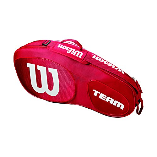 Wilson Team III 3 Pack Tennis Bag - Red/White