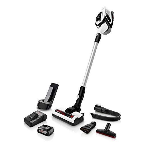 Bosch Unlimited Serie 8 Aspirador sin Cables, 2 Velocidades, Bianco