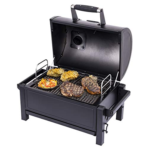 Product Image 6: Oklahoma Joe's 19402088 Rambler Portable Charcoal Grill, Black