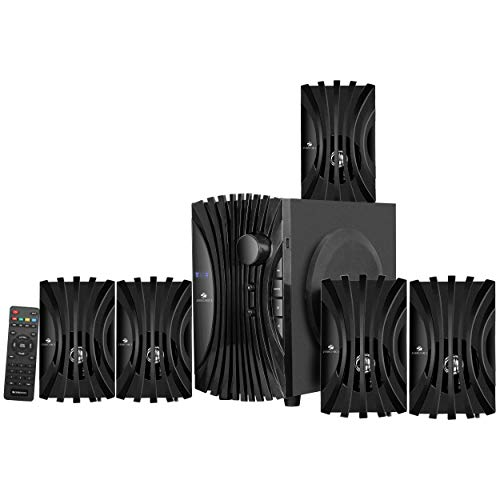 Zebronics Zeb-Twist 5.1 Multimedia Speaker with Bluetooth Supporting,USB,AUX,Built-in FM and Remote...