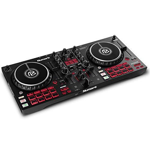 Numark Mixtrack Pro FX  Console DJ a 2 decks per Serato DJ con mixer DJ, scheda audio integrata, jog wheel capacitive e palette FX