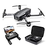 Holy Stone HS720 Foldable GPS Drone with 2K FHD Camera for Adults, Quadcopter with Brushless Motor, Auto Return Home, Follow Me, 26 Minutes Flight Time, Long Control Range, Includes Carrying Bag