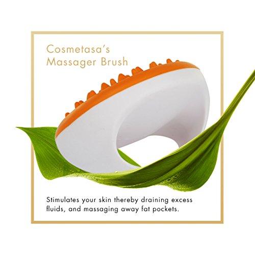 Anti-Cellulite Massage Oil, Gel & Mitt - 100% Natural Cellulite Treatment with Hot Cream Massage Gel, Oil & Massager - Penetrates Skin to Break Down Fat Tissue - Firm, Tone, Tighten & Moisturize Skin 5