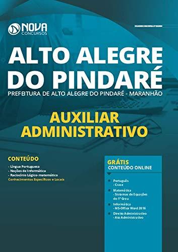 Folleto del Asistente Administrativo de Alto Alegre do Pindaré