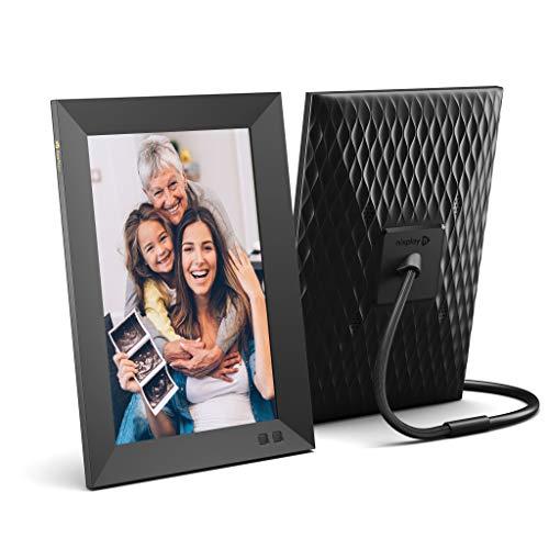 Smart Photo Frame Nixplay 10.1 Pulgadas - Marco montable en Pared Marco WiFi con Pantalla 1280x800 HD, Sensor de Movimiento, Muestra y Comparte Fotos por la App Móvil Nixplay