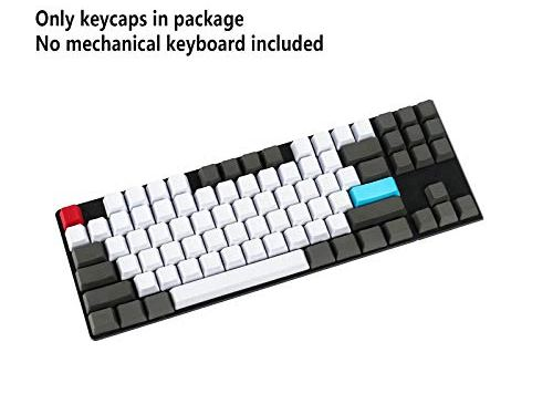 NPKC Blank Customized 61 87 104 ANSI Keyset OEM Profile Thick PBT Keycap Set Suitable for Cherry MX Switches Mechanical Gaming Keyboard