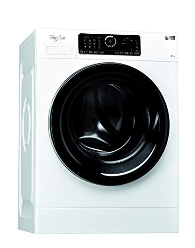 Whirlpool FSCRM90432, Lavatrice a Carica Frontale a Libera Installazione, 9 Kg, 10 Programmi, A+++, 1400 Giri/Min,...