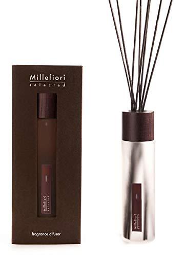 Millefiori Milano Raumduft Duftöl-Diffusor Selected Ninfea 350ml | Diffuser mit Stäbchen, blumig
