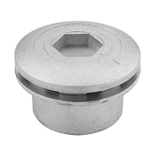 stronerliou Testina Universale in Alluminio per decespugliatore Testine per decespugliatore Set di Corde Accessori per decespugliatore