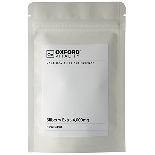 Oxford Vitality - Blaubeere Extra 4000mg Tabletten