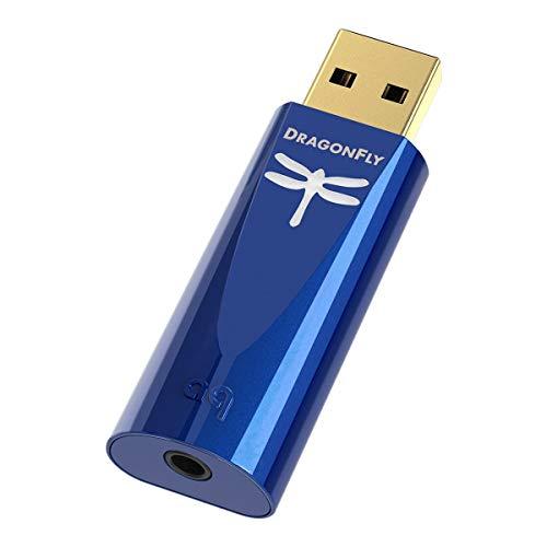 AudioQuest Dragonfly Cobalt Wireless Bluetooth Headphone (Blue)