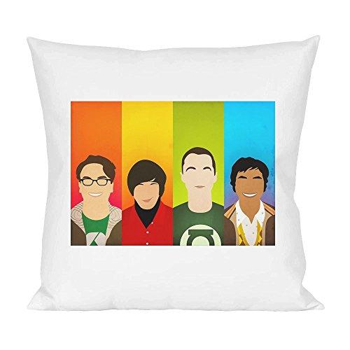 Big Bang Theory Bazinga Characters Pillow
