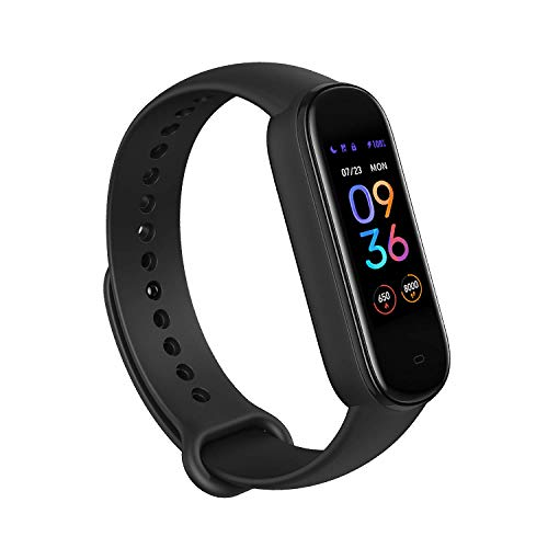 Amazfit Band 5 Fitness Tracker with Alexa Built-in, 15-Day...