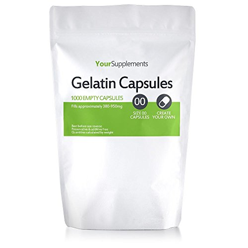 Your Supplements - Capsule in Gelatina, Vuote, Tagila'00', 1000 Pezzi