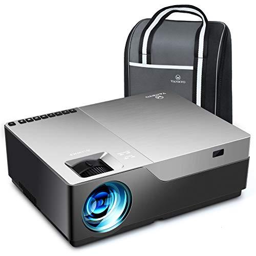 VANKYO Performance V600 Beamer, 7000 Lux Full HD Beamer, Native 1080P Heimkino Beamer mit 300' Display, unterstützt HDMI USB VGA TV Stick Xbox Laptop Smartphone, für Geschäftspräsentationen