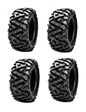 Bundle - Four Tusk TRILOBITE 8-Ply HEAVY DUTY ATV UTV Tires - TWO 26x9-12 and TWO 26x10-12