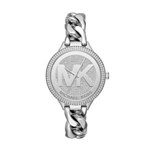Michael Kors Women's Slim Runway Silver-Tone Watch MK3473