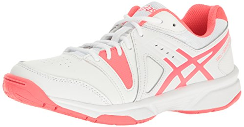 ASICS Women's Gel-Gamepoint, White/Silver/White, 7 M US