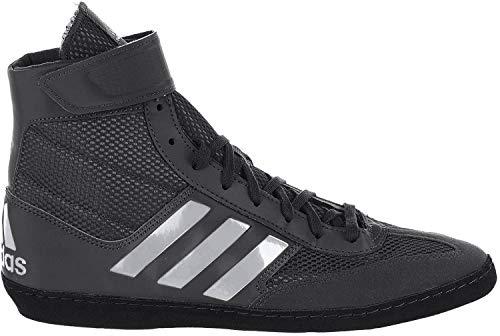 adidas Men's Combat Speed.5, Black/Silver Metallic/Black, 10.5 M US