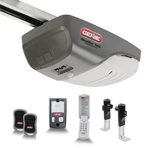 Genie SilentMax 1200 Model 4042-TKH Garage Door Opener with Motion Detection Lighting, Ultra-Quiet Steel-Reinforced Belt Drive, 140V DC Motor