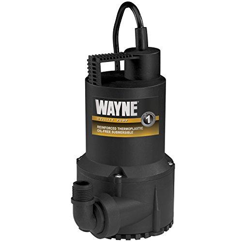 WAYNE RUP160 1/6 HP Oil Free Submersible Multi-Purpose Water Pump