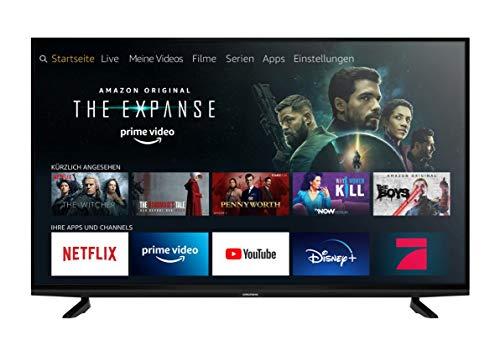 Grundig Vision 8 - Fire TV (49 VAE 80) 123 cm (49 Zoll) Fernseher (Premium Ultra HD, Alexa-Sprachsteuerung, HDR) [Modelljahr 2020]