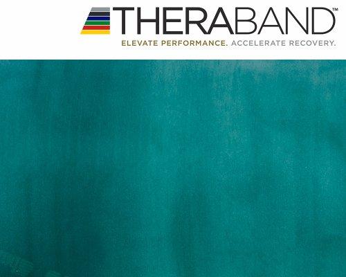 Thera-Band Original, fascia elastica da 2,5 m + libro degli esercizi da 24 pagine (lingua italiana...