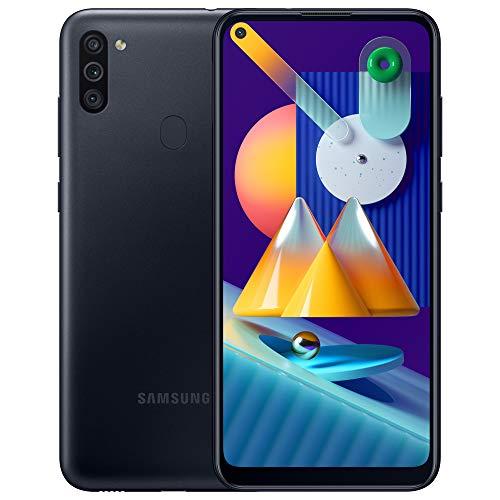 Samsung Galaxy M11 - Smartphone débloqué 4G - Noir [Exclusif Amazon]