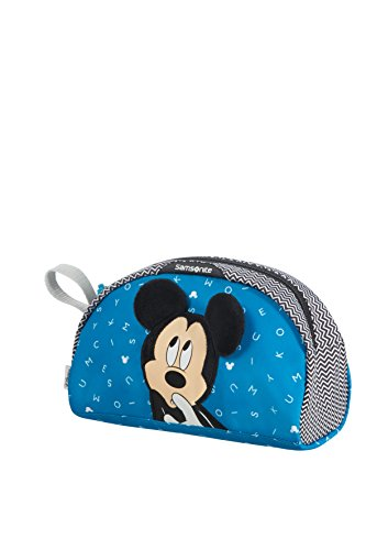 Samsonite Disney Ultimate 2.0 - Kulturbeutel, 23 cm, 2.5 L, Blau (Mickey Letters)