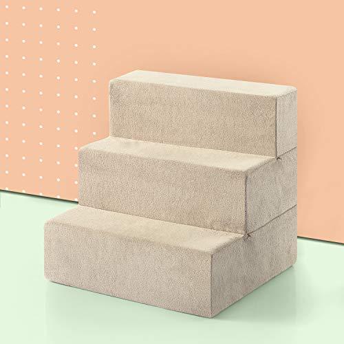 Zinus OLB-PS-1818 3 Step Comfort Pet Stairs/Pet...