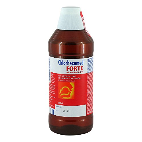 CHLORHEXAMED FORTE alkoholfrei 0,2% Lösung 600 ml Lösung