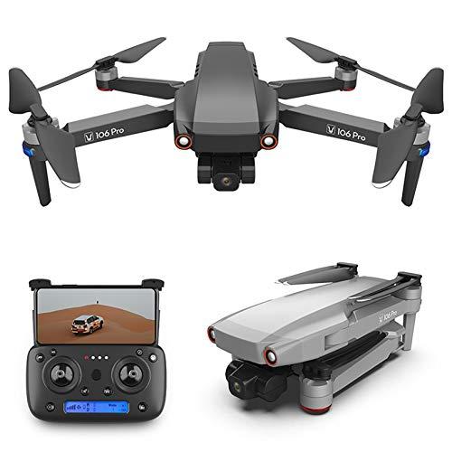 2021 JJ106 pro 1.2 KM FPV 3 assi Gimbal Foldable GPS drone con fotocamera 4K Full HD trasmissione live