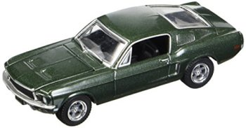 Greenlight 1:64 Steve McQueen Bullitt 1968 Ford Mustang Gt 44721, Green