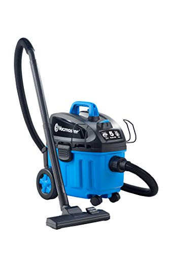 Vacmaster 4 Gallon, 5 Peak HP with 2-Stage Industrial Motor Wet/Dry Floor...